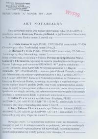 Akt notarialny - pomoc